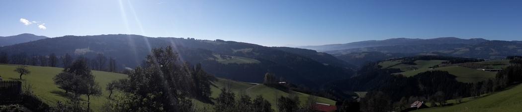 Ausblick vom Hof